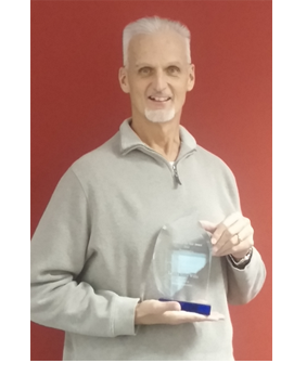 Mike Lutz, Toyota Motors Mentor of the Year